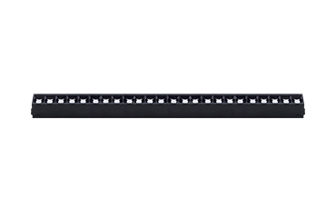 35#磁吸线条格栅灯-24W
